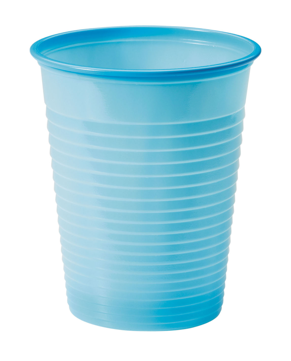 25 gobelets plastique turquoise d coration anniversaire et f tes th me sur vegaoo party - Decoration gobelet plastique ...