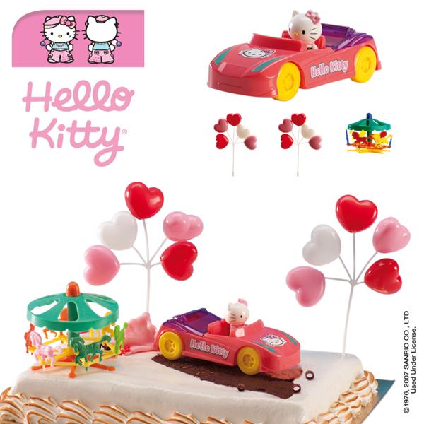 Decoration Gateau Anniversaire Hello Kitty : Décorations g teau hello kitty™ décoration anniversaire