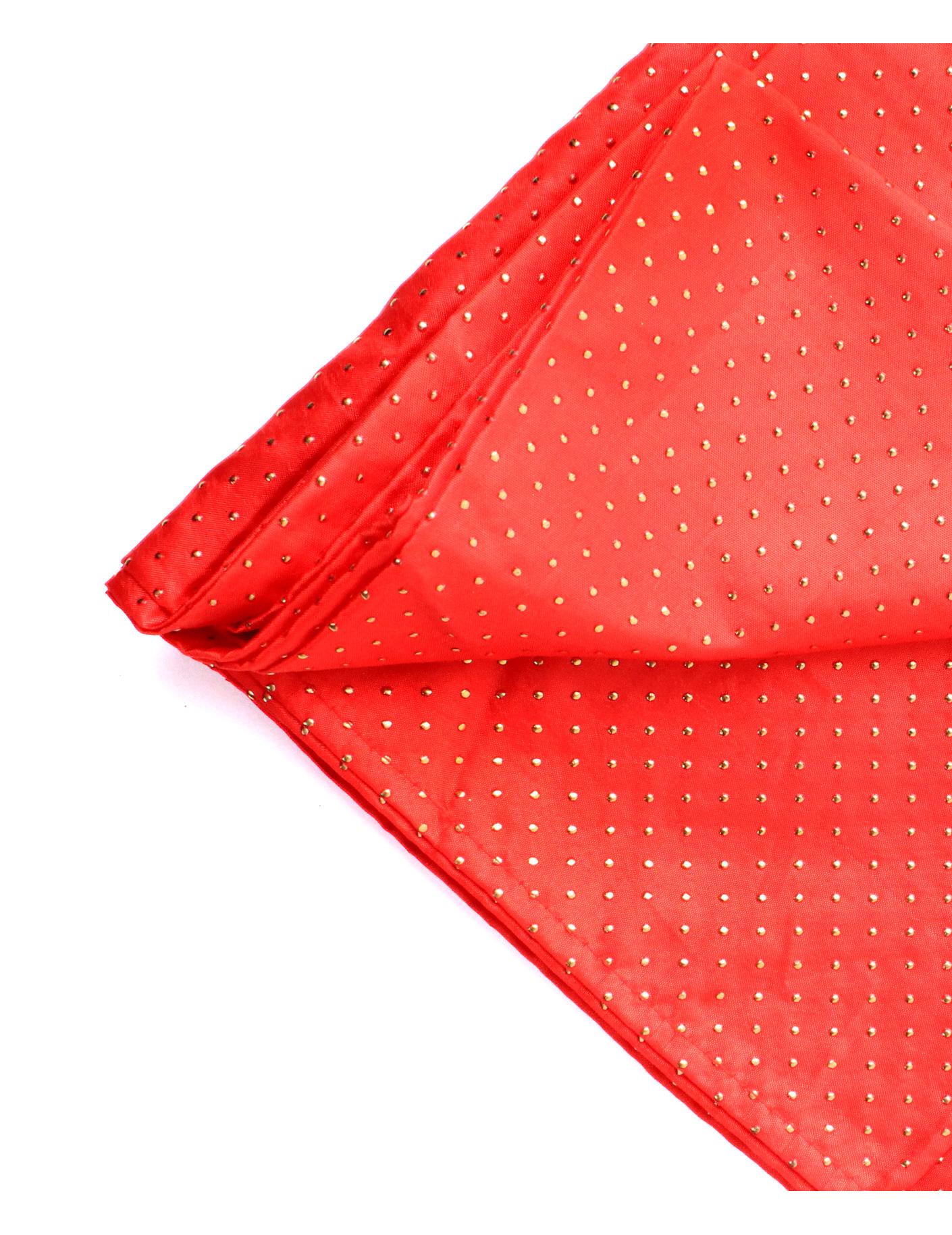 nappe rectangulaire rouge et or 140 x 240 cm d coration anniversaire et f tes th me sur. Black Bedroom Furniture Sets. Home Design Ideas