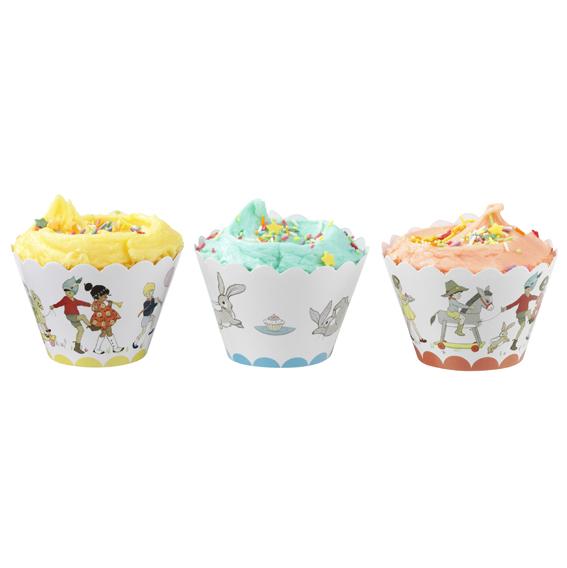 D corations pour cupcakes anniversaire r tro d coration anniversaire et f tes th me sur - Decoration cupcake anniversaire ...