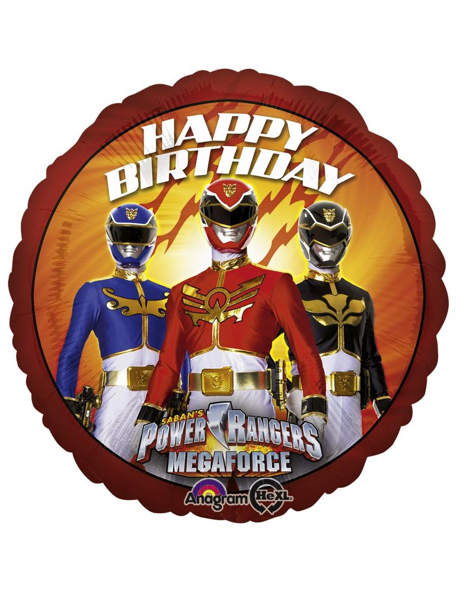 Carte d 39 anniversaire imprimer power rangers - Power rangers gratuit ...