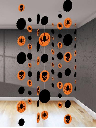 d corations suspendre halloween. Black Bedroom Furniture Sets. Home Design Ideas