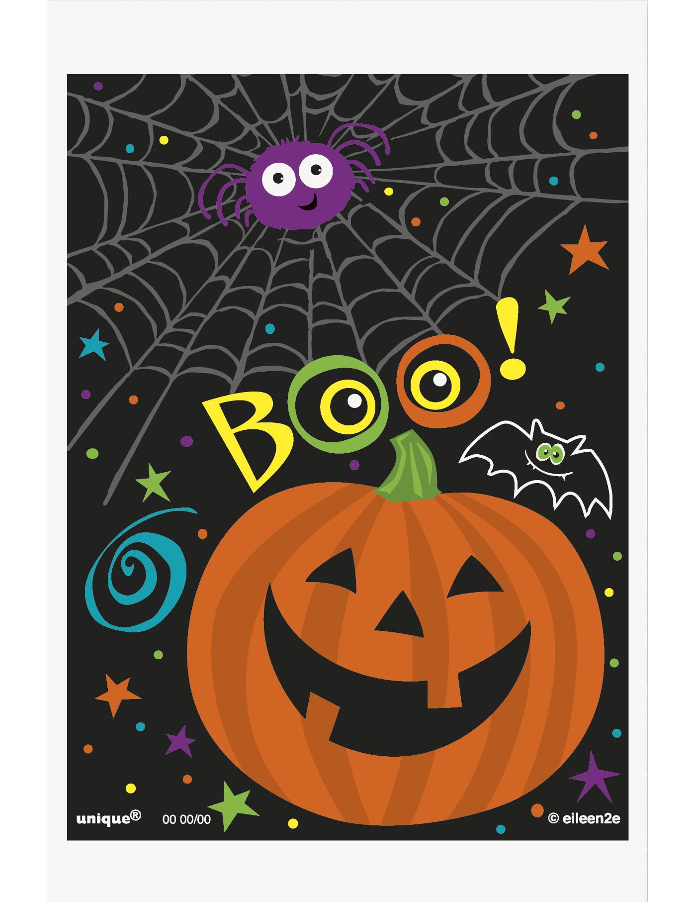 50 sacs cadeaux en papier petite citrouille halloween d coration anniversaire et f tes th me - Citrouille halloween en papier ...