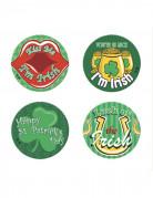 4 pins Saint-Patrick