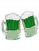 Lunettes humoristiques chope de bi�re Saint-Patrick